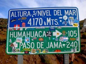 Sign, Salta Province, Argentina