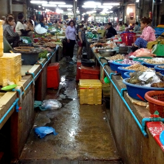 Wet Market, Angkor, Cambodia