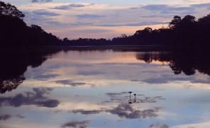 Angkor lake