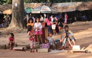 Kids, Angkor, Cambodia