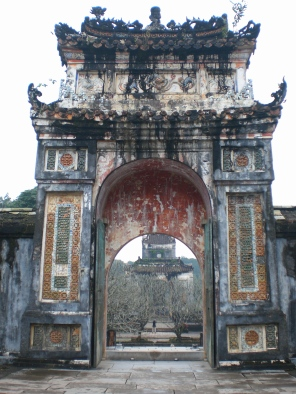 Gate, Hue, Vietnam