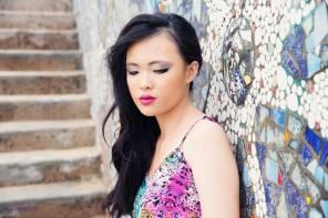 Model: Janice Valencia, makeup: Kayah Parashar