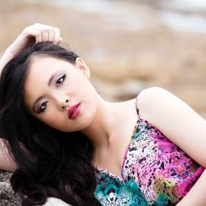 Model: Janice Valencia, makeup: Kayah Parashar