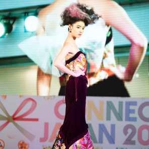 Central World, 17 May 2015. Kimono dresser: Yamada Tsunoda and Toshie Noriko Hair designer: Ishino Norihisa