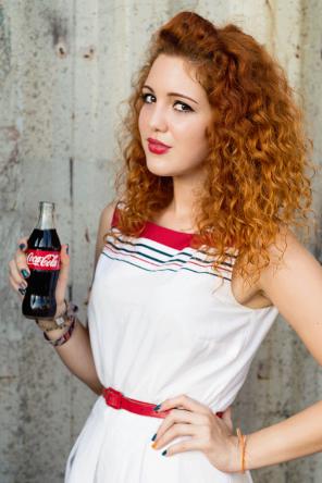 Model, makeup, and styling: Nella Miščíková