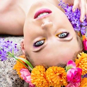 Model: Cristina Sofia Tuscano, Make-up: Gulisara Takky, Styling/headpiece: Leonie Roland