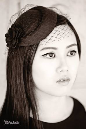 Model: Agnes Goh, hair and makeup: Reyna Hearts