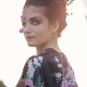 Model: Mylène Bonvoisin, makeup: Yan Zein (Janzynn)