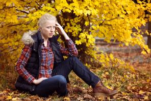 Autumn shooting yellow