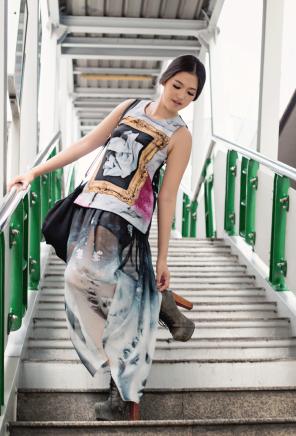 Model, makeup, and styling: Pupe Pemika Thiravanitkul (Stellar Balcony)