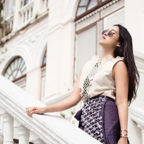 Model, makeup, and styling: Pupe Pemika Thiravanitkul (Stellar Balcony)