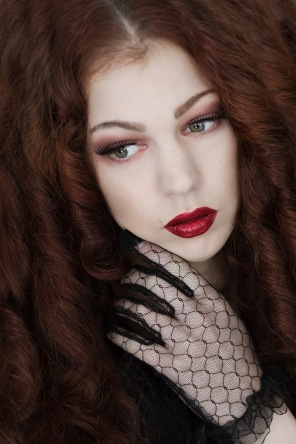 Model: Kaylie, hair and makeup: Hanna Schmittdiel.